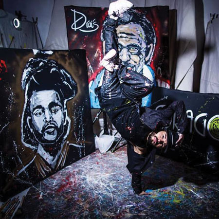 Hayden Productions - Live Painter Ricardo Barraza