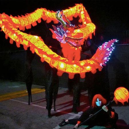 Stilt Circus - LED Dragon