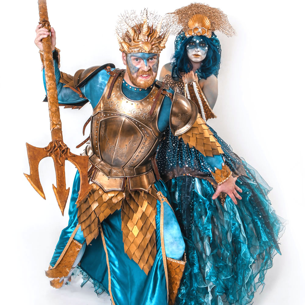 Sea God and Goddess - In House Production