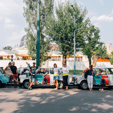 Rent-A-Trabant Budapest-Classic Tour