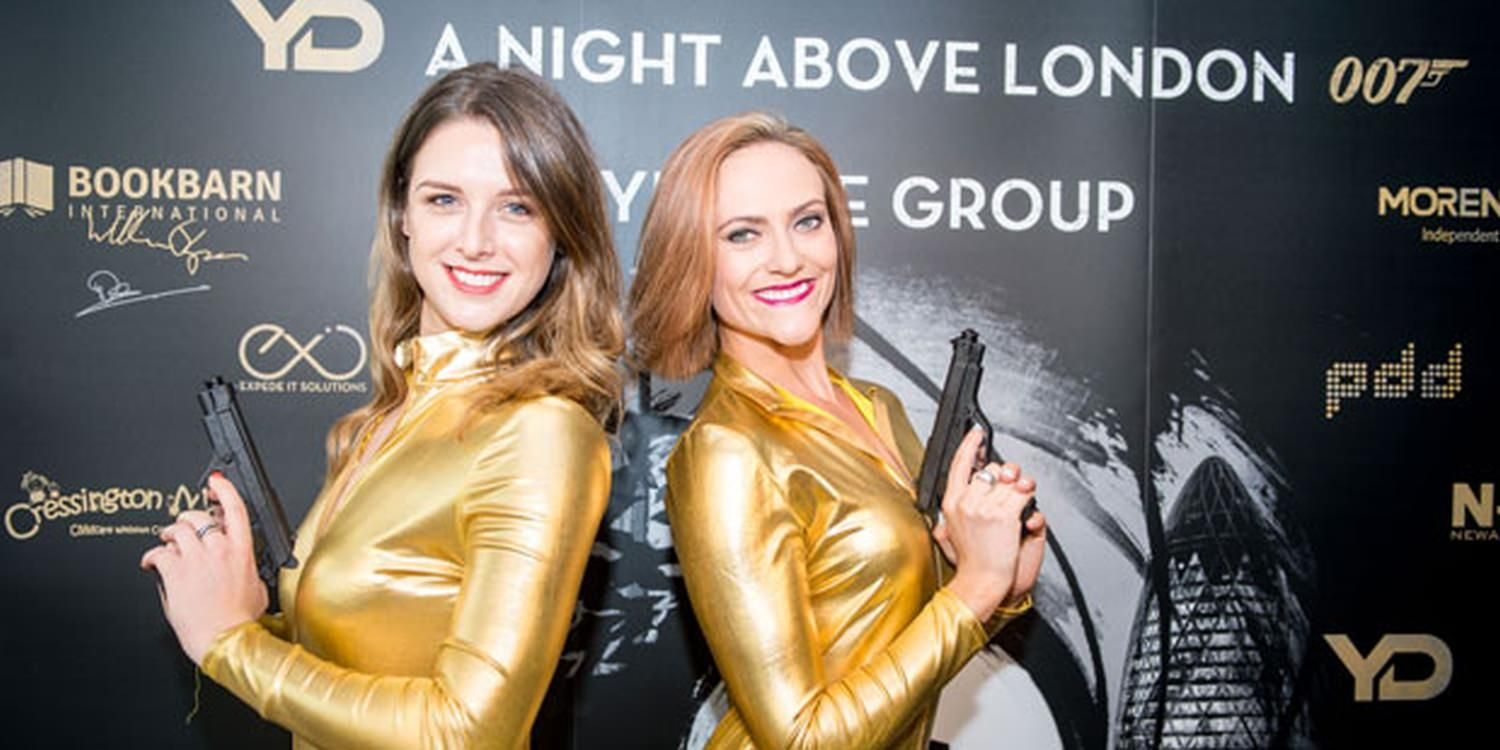 Bond Girls Are Golden At London Event