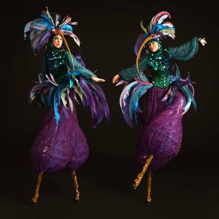 The Hummingbirds - Stilt Walkers