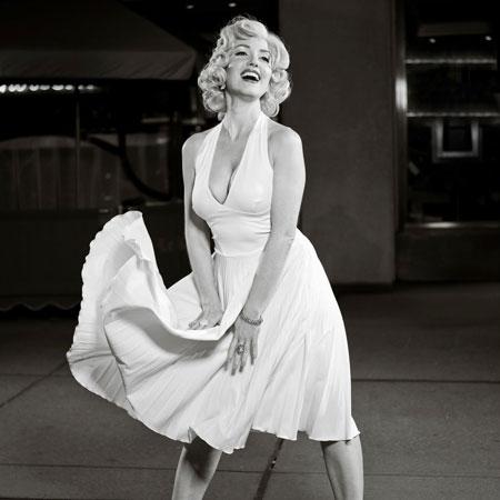 Erika Smith as Marilyn Monroe
