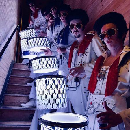 Drum As One - Elvis LED Drummers