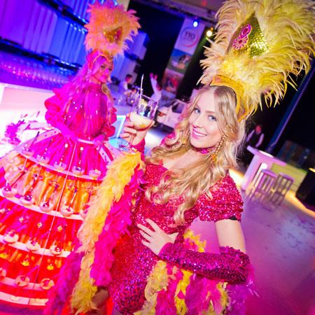 ARTrageous Theatre - Champagne Diva Dress