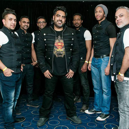 The Live Crew - Fusion Reggae Bhangra Band