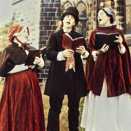 Same Difference Art - Victorian Carol Singers