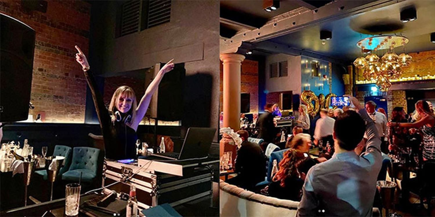 Singing DJ Got New Year's Eve Party Pumping As Guests Welcomed 2020