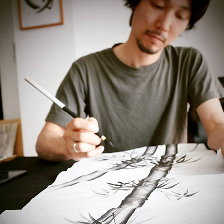 MITSURU NAGATA - Japanese Painter