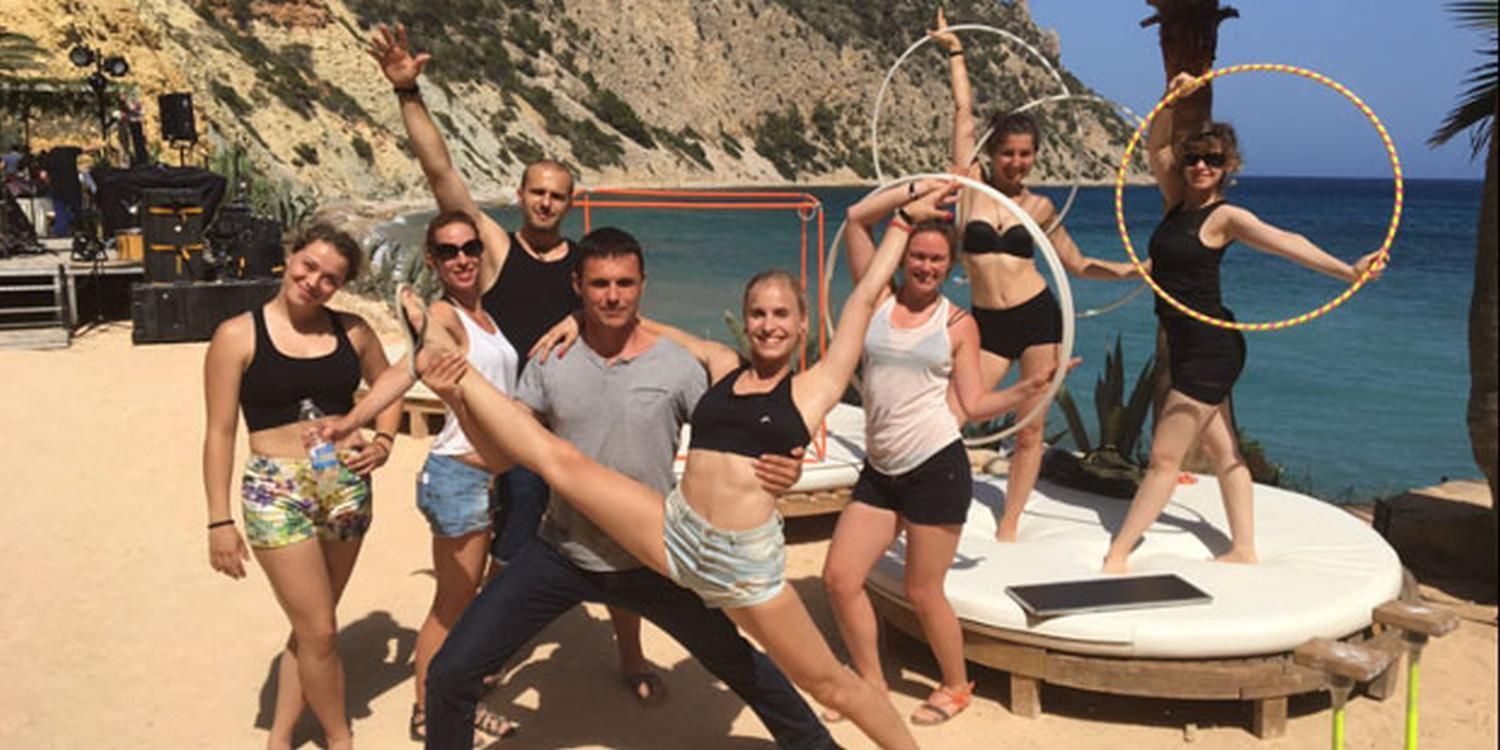 Bespoke Circus Show Wows Guests In Ibiza