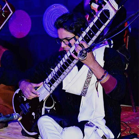 Arslan Nizam - Sitar Player
