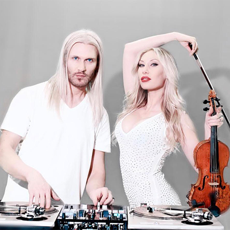 Vynilyn - DJ & Violin Duo