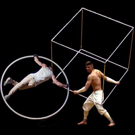 Vandal Art - Cyr Wheel and Cube