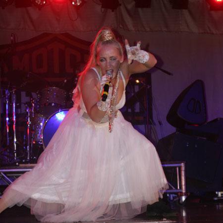Julia Martin as Madonna