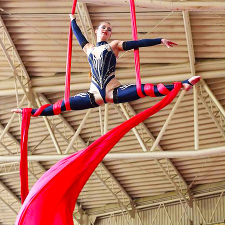 Ekaterina Malysheva Aerial Silks