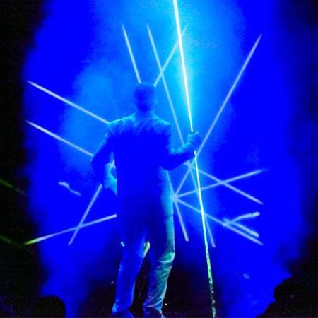 Electric Dance Theatre - Laser Manipulation