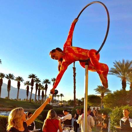 American Acrobats - Lollipop - pole/ hoop