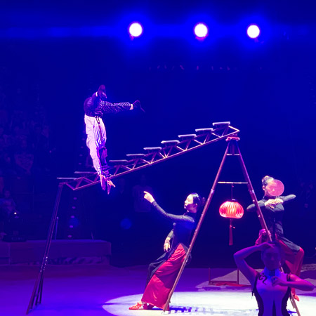 Shenzhen Acrobatic Arts Group - Head up down (头顶倒立)