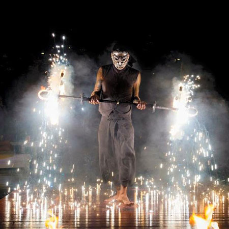 Angkorn Fire Performance