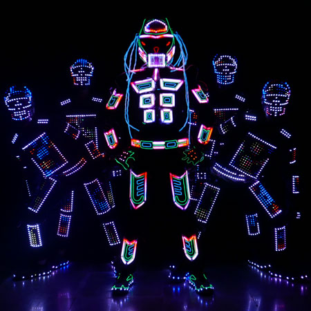 Skeleton Dance Crew - VisualTRON