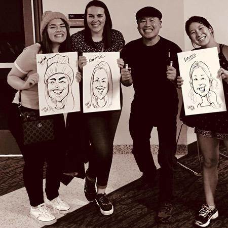 Vincent Yee - Caricaturist
