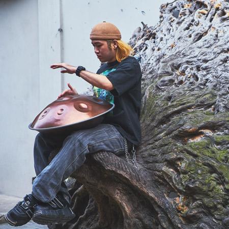 Sheldon - Hang drummer - Shanghai