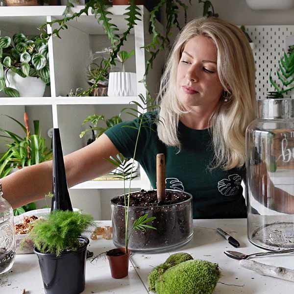 The Urban Botanist - Virtual Terrarium Workshop