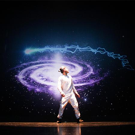 Gravitas - Breakdance Video Mapping