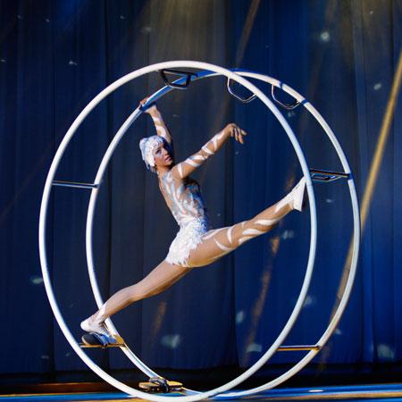 Raquel Carpio - German Wheel Act