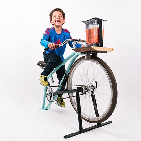 La Smoocyclette - Smoothies Made with Bicycles