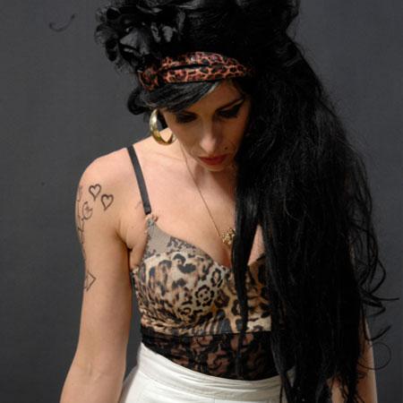 Amy Winehouse Impersonator