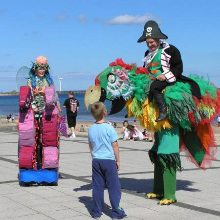Pirates, Parrots, Sirens and Seahorses