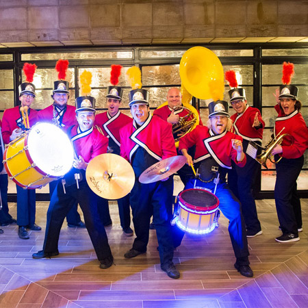 BOOM! Percussion Entertainment - Marching Band