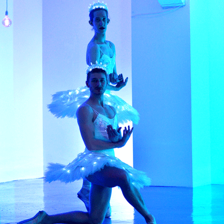 Sophie Adams LED Male Ballerinas