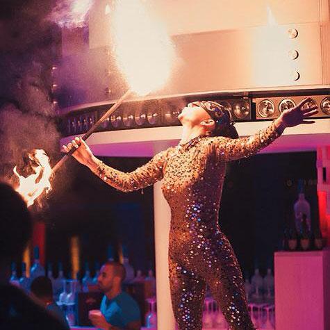 Melina Druta - Fire Dancer