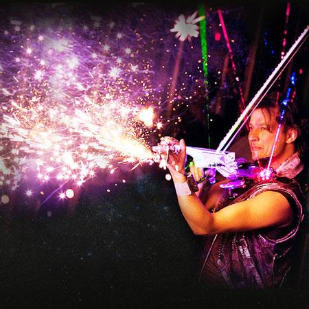 Aleks Veksler - Laser Violinist
