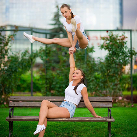 Celina Małek - Acrobatic Female Duo
