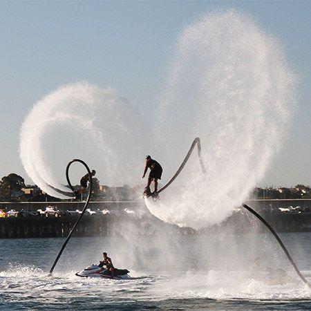 Stars Down Under - Water and Stunt Show Team