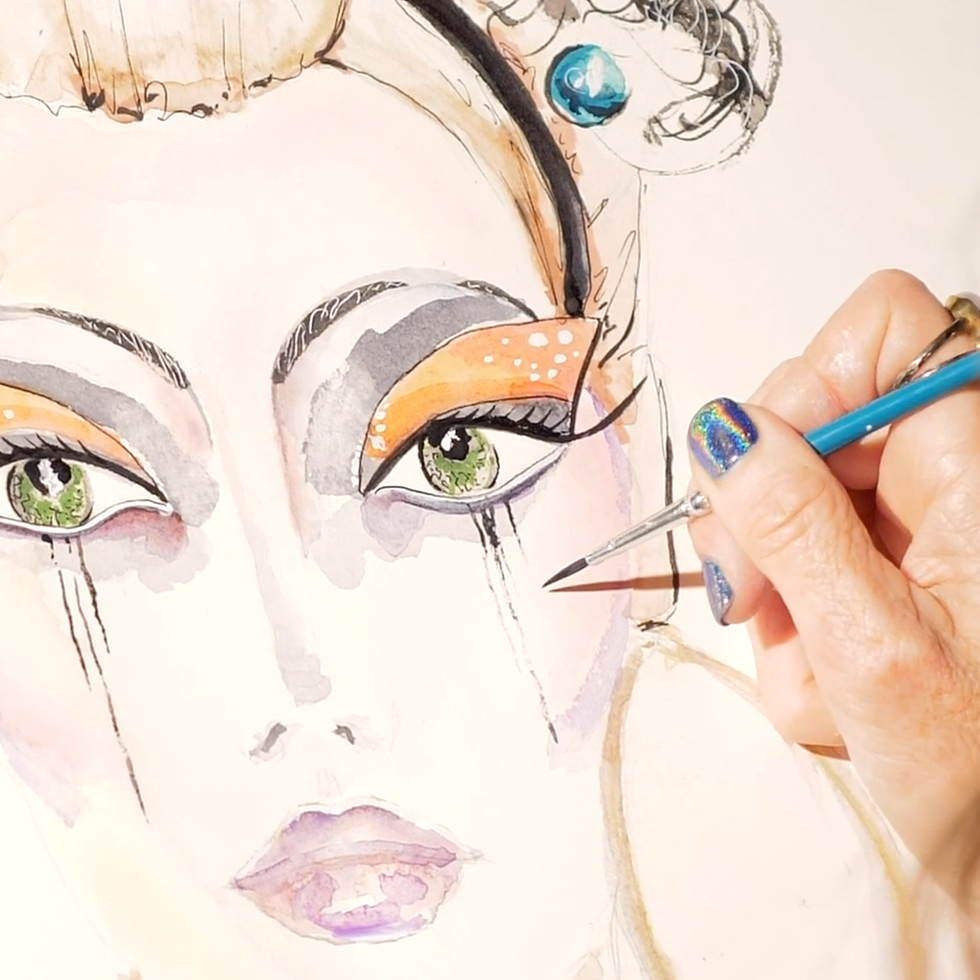 Michelle Pike Fashion Illustration