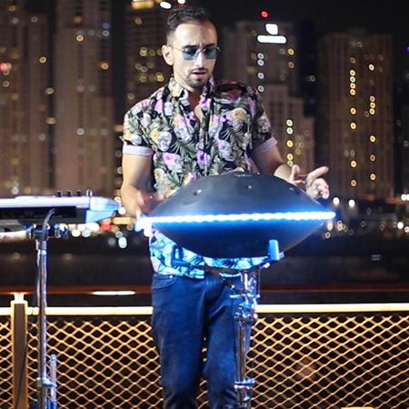 LED Handpan