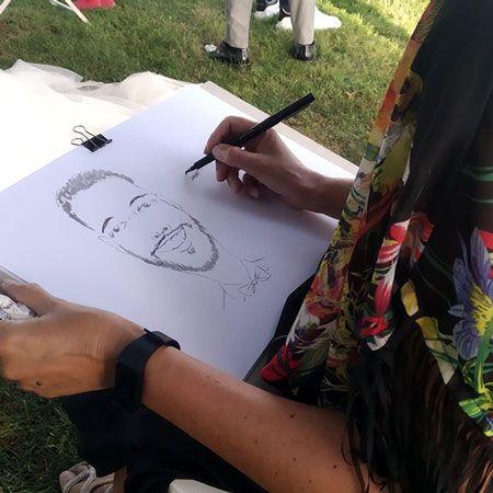 Caricature and portrait artist