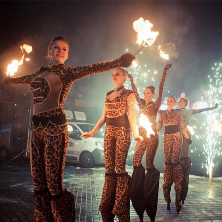 Liumanov Show - Fire Show