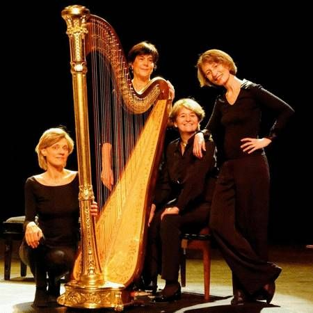 Le Quatuor de Harpes de Paris