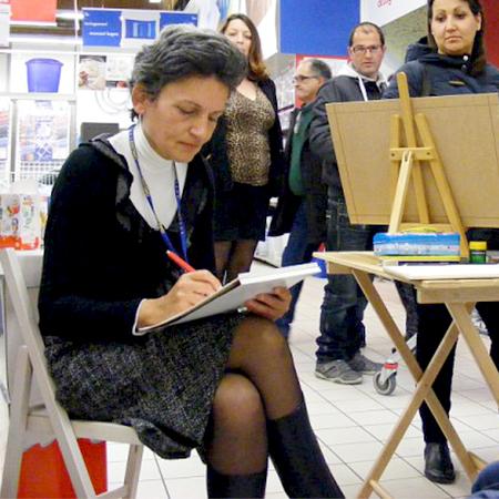 Pagnes - Live Event Painter