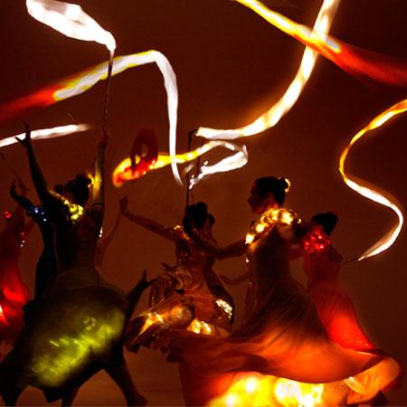 Divine Company - Illuminated ribbons