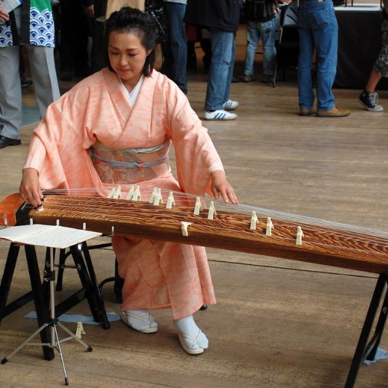 Sumie Kent - Koto Player