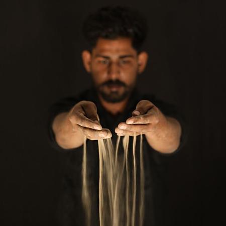 Rajat Kumar - Sand Art