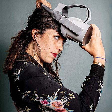Clemence Powney - VR Event Painter