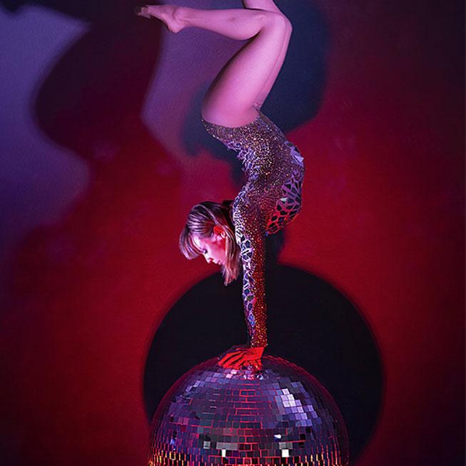 Disco Ball Contortion - Jenny Arata