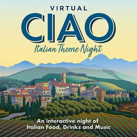 A taste of Italy Virtual Night